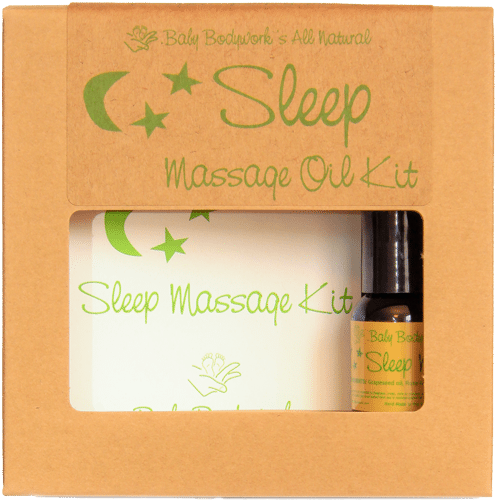 sleep infant massag kit