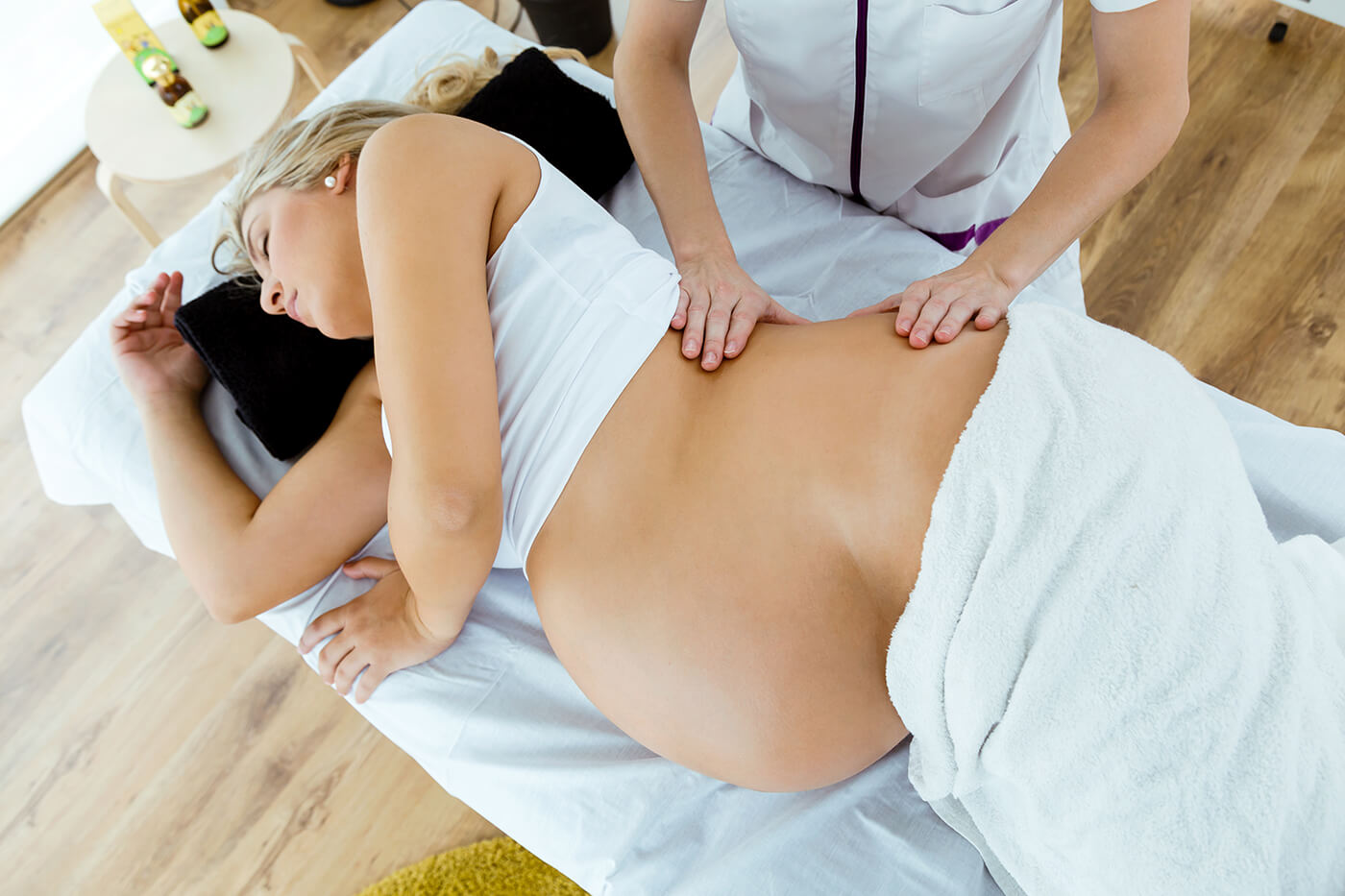 prenatal and post partum massage