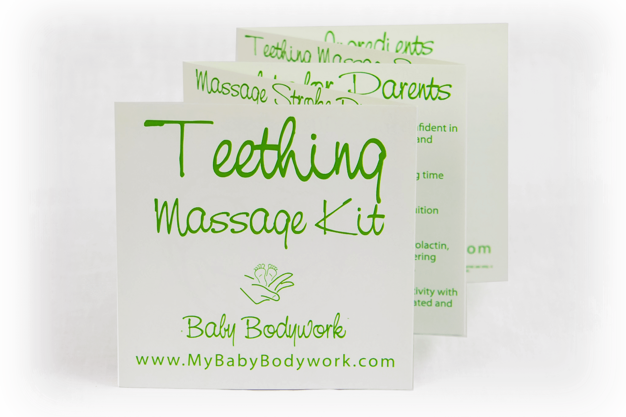 Infant massage booklet